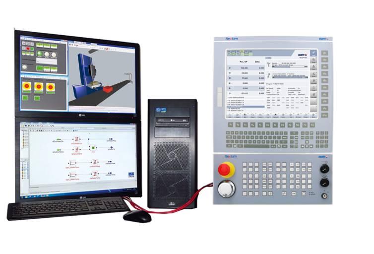 Die digitale Zwillingstechnologie von NUM ermöglicht es Werkzeugmaschinenherstellern, ihre Markteinführungszeit drastisch zu verkürzen.