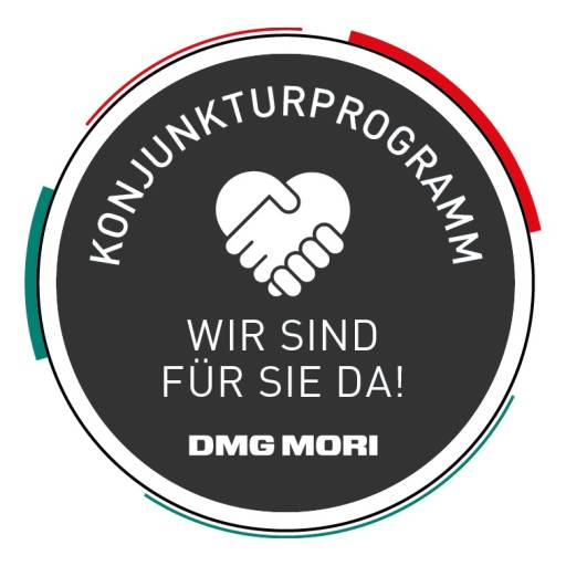 Auf Basis innovativer Produkte sowie kundennaher Dienstleistungen rund um Finanzierung und Service hat DMG MORI sein Konjunkturprogramm ausgeweitet, um das produzierende Gewerbe gerade in dieser Zeit zielgerichtet und zukunftsorientiert zu unterstützen.