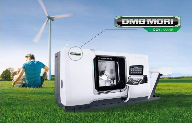 GREENMACHINE: Zusätzlich zur eigenen klimaneutralen Wertschöpfung gleicht DMG MORI ab 2021 auch die CO2-Emissionen aus, die in der Lieferkette entstehen.