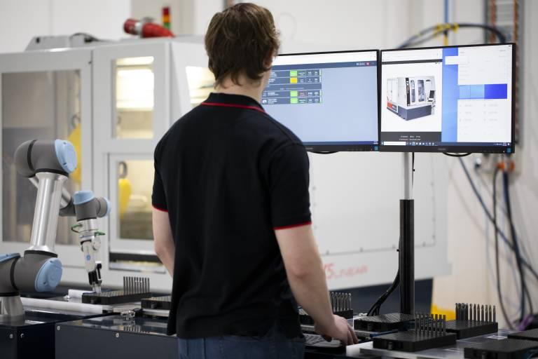 AIMS treibt die Digitalisierung in der Produktion voran. Quelle: Anca