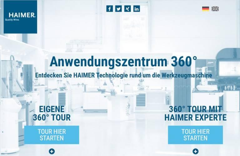 Die Haimer-Technik kann hautnah im komplett ausgestatteten Anwendungszentrum mit 360° Einblick erlebt werden.