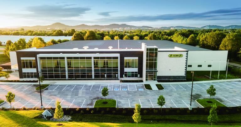 Das neue Gebäude bietet eine Gesamtfläche von 11.000 Quadratmetern. Quelle: Horn USA