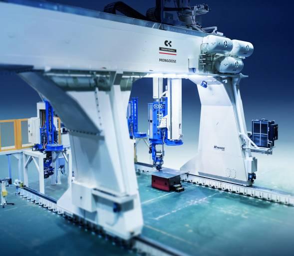 Die AFP-Anlagen von Ingersoll werden bei den führenden Luft- und Raumfahrtunternehmen für die Herstellung von Verkehrs- und Kampfflugzeugen eingesetzt.