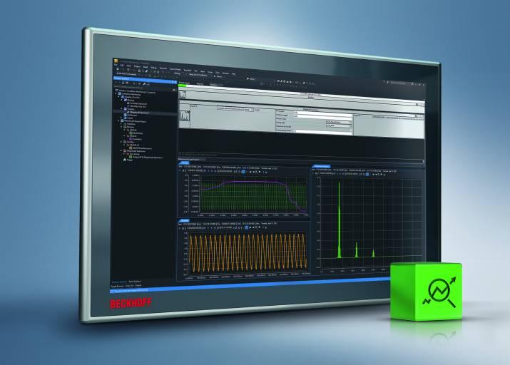 In TwinCAT Analytics lassen sich ohne Programmieraufwand Condition-Monitoring-Algorithmen einbinden.