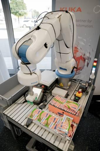 Robotergestützte Automatisierung ist ein wichtiger Wettbewerbsvorteil.