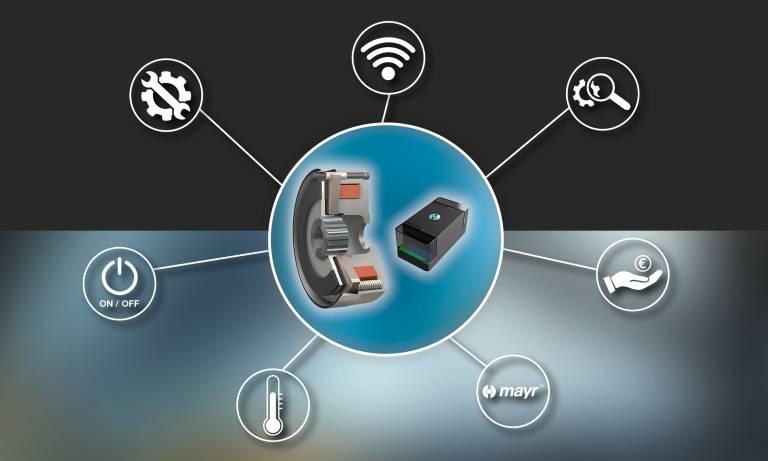 Mit dem Schaltgerät ROBA-brake-checker gelingt die sensorlose Überwachung von Schaltzustand, Verschleiß, kritischer Spulentemperatur und Fehlern.