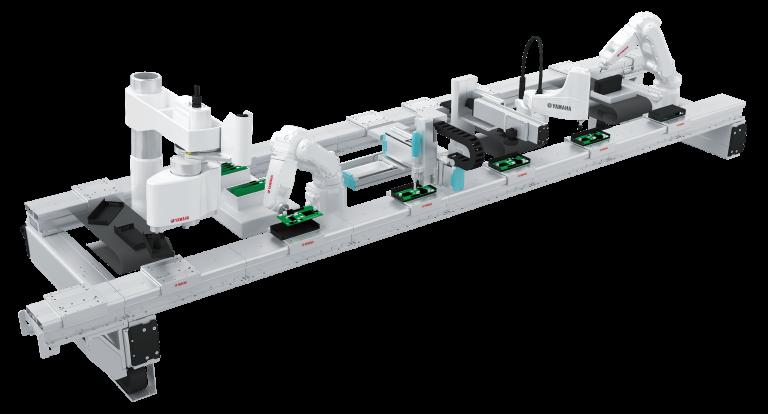 Mit dem neuen Linearmodul LCMR200 ermöglicht Yamaha modular gestaltete Basisprozesse flexibel zu kombinieren und umzustellen. Derart lassen sich Applikationen leicht aufsetzen, um einen hohen Produktmix und kleine Losgrößen wirtschaftlich zu bewältigen.