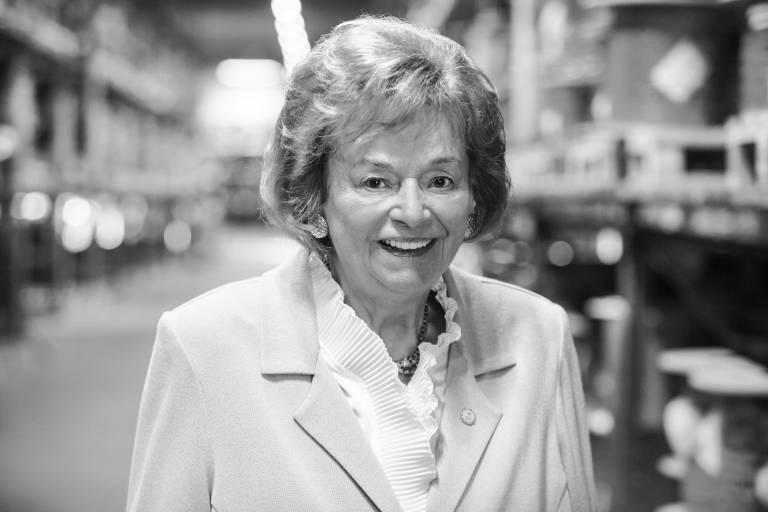Sie war eine großartige Unternehmerin und hat Wirtschaftsgeschichte geschrieben: Ursula Ida Lapp, Gründerin von Lapp, starb im Alter von 90 Jahren.