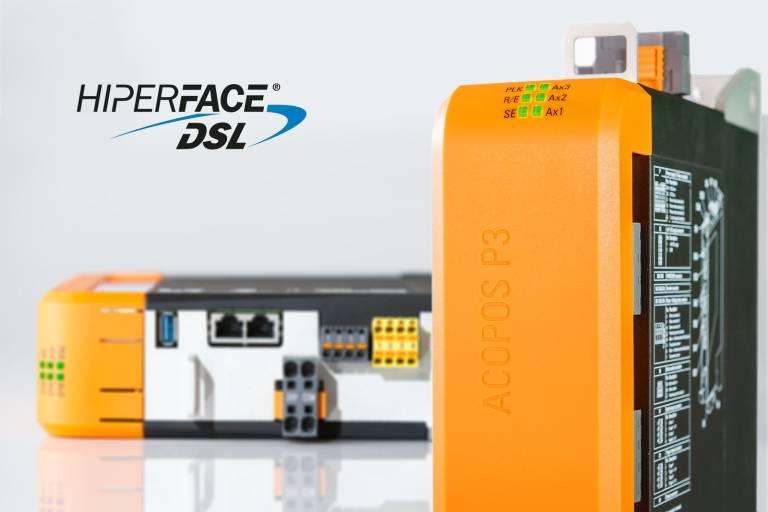 Die Sicherheitsfunktionen des B&R-Servoverstärkers ACOPOS P3 sind nun auch für Motoren mit sicherem Hiperface-DSL-Encoder verfügbar.