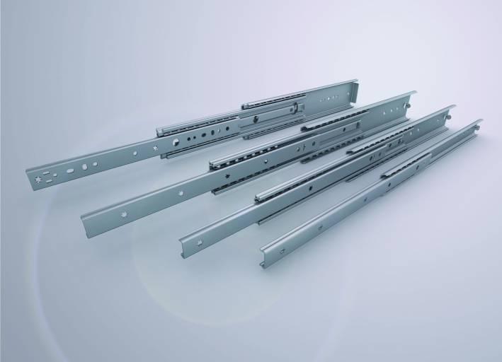 Die neue Light Rail von Rollon: Individuelle Auszüge für manuelle Anwendungen Bild: Rollon GmbH