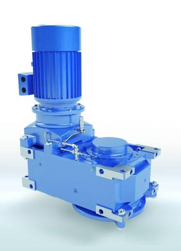 SAFOMI-IEC-Adapter für MAXXDRIVE®-Industriegetriebe von Nord Drivesystems in Kombination mit Antriebsmotor: weniger Bauteile, erhöhte Betriebssicherheit. Bild: Nord Drivesystems