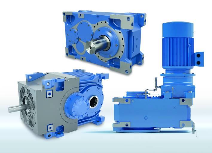 Das leistungsstarke MAXXDRIVE®-Industriegetriebe-Portfolio auf Basis des modularen Nord-Produktbaukastens deckt alle industriellen Anwendungsfelder bis 282 kNm ab.