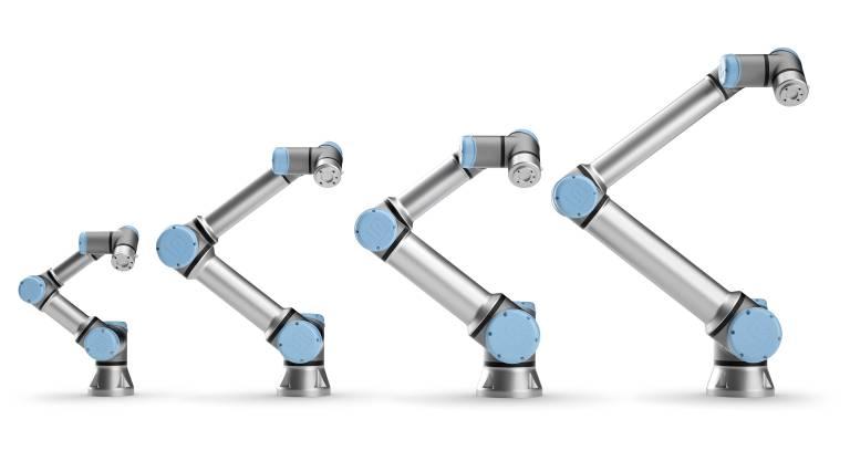 Cobots der e-Series von Universal Robots.