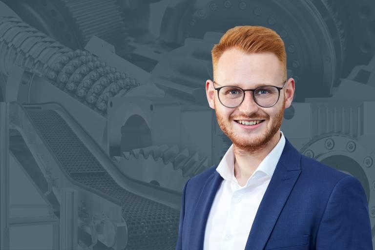 Technischer Innendienst (Produktgruppenverantwortlicher Getriebe, Kupplungen und Motoren): Christoph Rathmayr (© TAT / Erwin Wimmer)