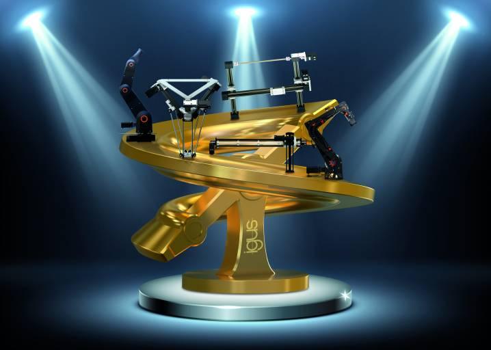 Der ROIBOT Award von igus sucht nach kreativen Automatisierungslösungen, die einen schnellen Return-On-Invest erzielen konnten.