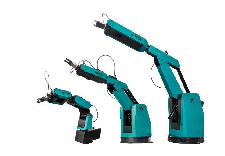 fruitcore robotics entwickelt mit HORST Robotersysteme, die der breiten Masse die Automatisierung ermöglichen. Das Portfolio umfasst aktuell drei Robotermodelle mit Reichweiten von 600, 900 und 1.400 Millimetern und Traglasten zwischen 3 und 12 Kilogramm.
