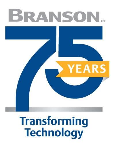 Emerson feiert 75-jähriges Jubiläum seiner Marke Branson.