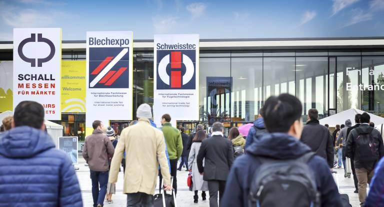 Die Aussteller der Blechexpo/Schweisstec  freuen sich schon sehr auf die Präsenzveranstaltung und den direkten Kundenkontakt im Rahmen einer realen Messeatmosphäre.