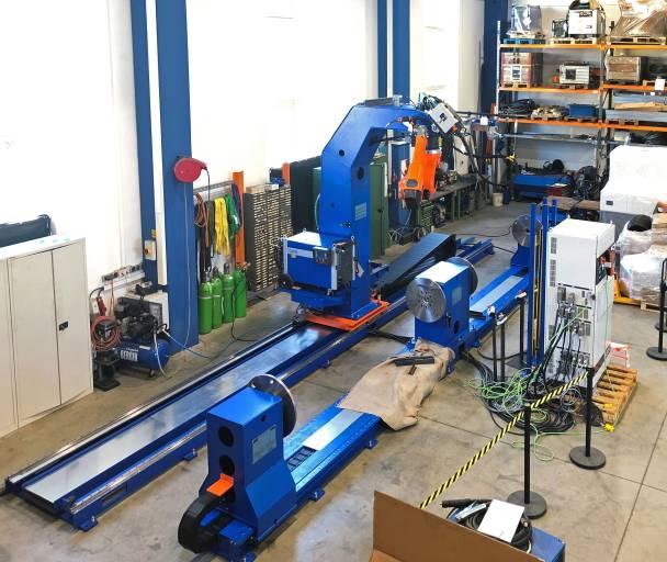 Kleine und mittelgroße Roboteranlagen werden heute direkt in Biedermannsdorf montiert.