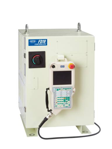 Die Robotersteuerung FD-19 bietet als Nachfolgemodell der FD-11 einen deutlich höheren Funktionsumfang.