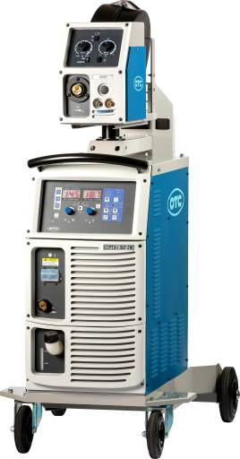 Die Schweißmaschinen der CPTX-I Serie lösen stufengeschaltete Modelle ab.