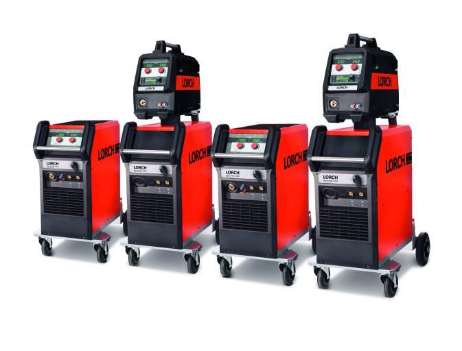 Basis für den MicorTwin-Prozess: die MicorMIG Pulse-Serie von Lorch. Sie steht in verschiedenen Leistungsklassen von 300, 350, 400 und 500 Ampere zur Verfügung.