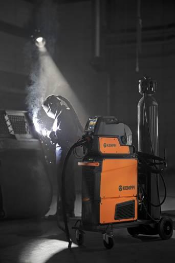 Die X5 FastMig bietet Möglichkeiten zur Steigerung der Lichtbogen-Einschaltzeit durch die Verbesserung von Schweißqualität, Ergonomie und Anwendererfahrung.