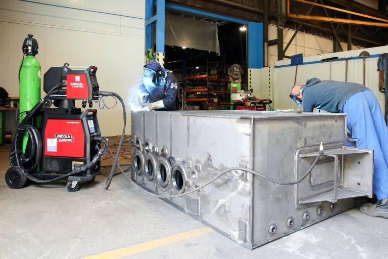 SBB vertraut in der Schweißfertigung ausschließlich auf Lincoln-Schweißmaschinen von Weld-Tec. (Bilder: x-technik)