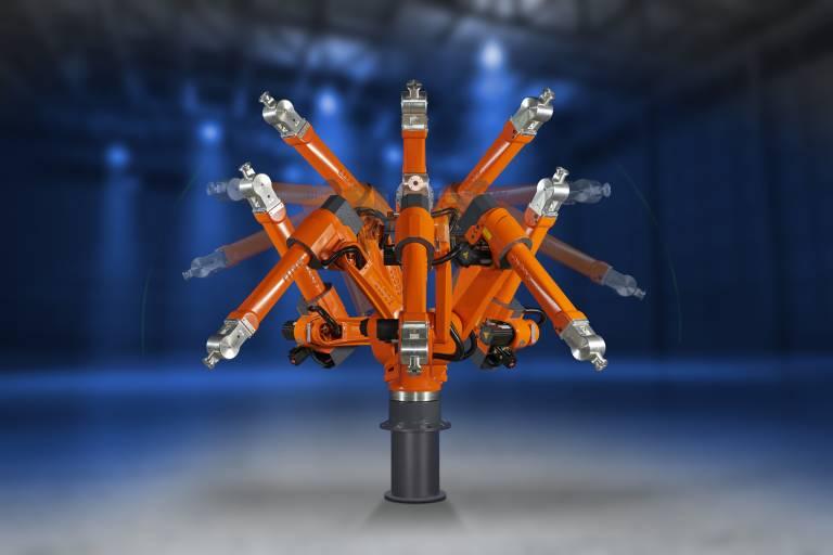 Die umfangreiche Auswahl an QIROX-Robotern ermöglicht individuelle Lösungen für das automatisierte Schweißen.