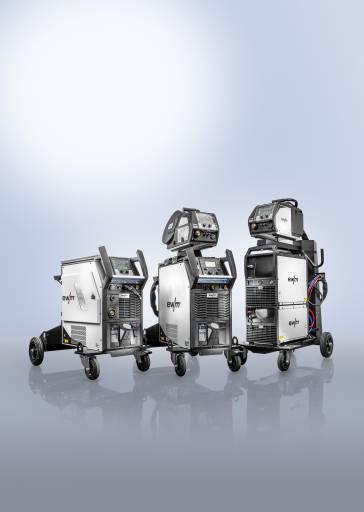 Die neuen modularen Versionen ergänzen die Serie der XQ MIG/MAG-Schweißgeräte von EWM und gewähren Schweißern noch mehr individuellen Komfort. (Bilder: EWM)