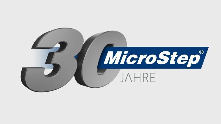 """Die Firma MicroStep, spol. s r.o. wurde im Januar 1991 in Bratislava gegründet. Zum Jubiläum gibt es eigenes Key Visual """"30 Jahre MicroStep"""". © MicroStep Europa GmbH"""