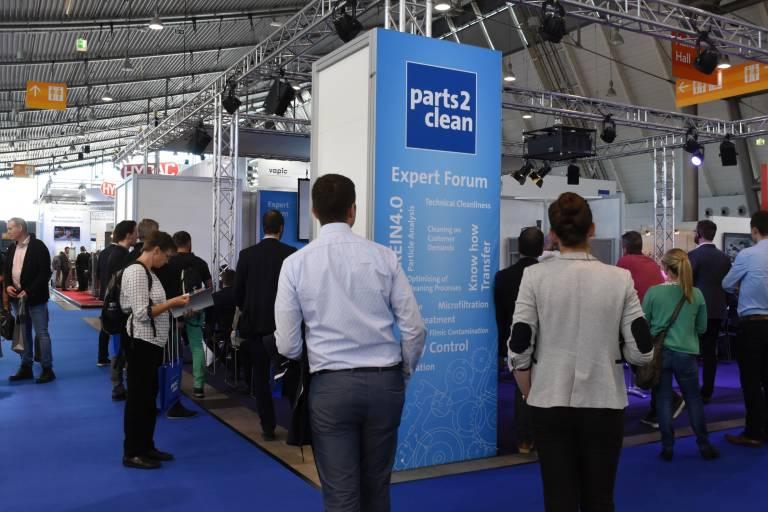 Die parts2clean 2021 wird vom 5. bis 7. Oktober in Stuttgart stattfinden und wartet mit einem vielfältigen Rahmenprogramm auf.