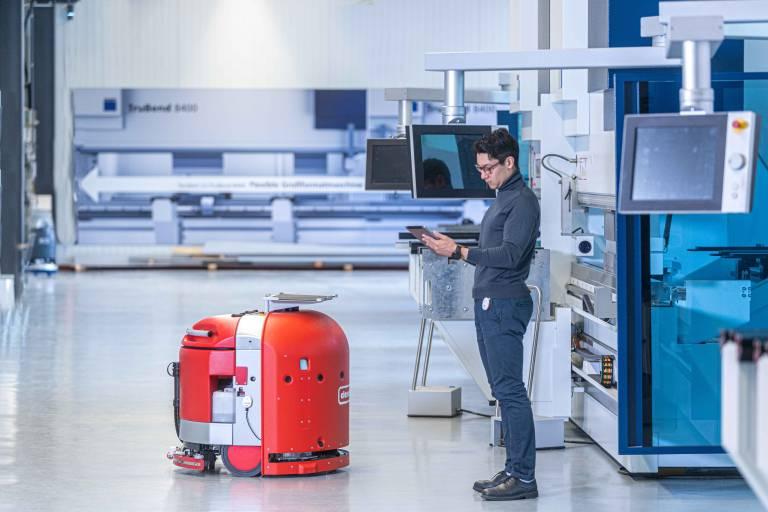 Ortungstechnologien steigern die Produktivität und Planbarkeit in der Fertigung.