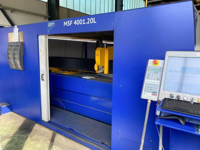 Zur 2D-Bearbeitung von Blechen, Rohren und Profilen investierte die Manfred Sickinger GmbH & Co.KG 2016 in eine Faserlaserschneidanlage von MicroStep.