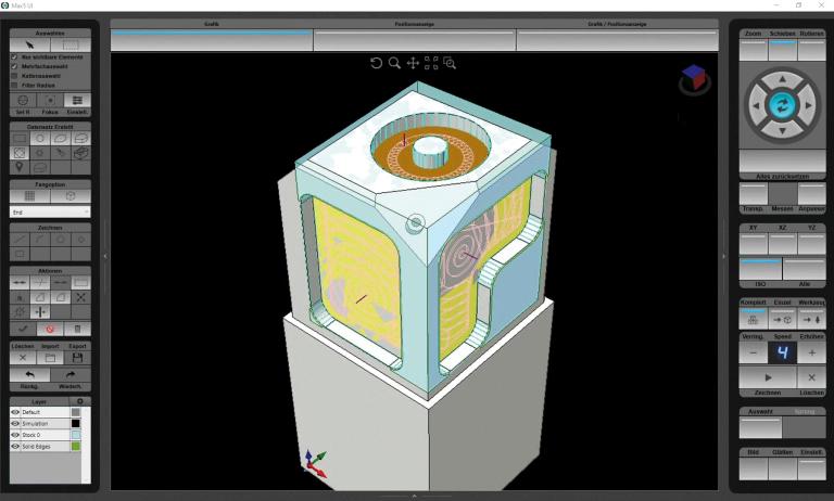 Im Webinar wird die Anwendung der Programmierhilfen Solid Model- und 3D-DXF-Import erklärt. (Foto: Hurco)