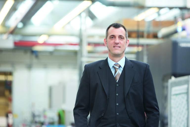 Felix Schöller ist neuer Geschäftsführer von Sauter Feinmechanik.