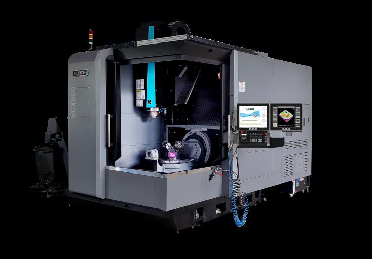 Die VCX600i XP von Hurco richtet sich an Anwender, die ausschließlich im 5-Achs-Bereich arbeiten und hier vor allem mittelgroße Teile fertigen.