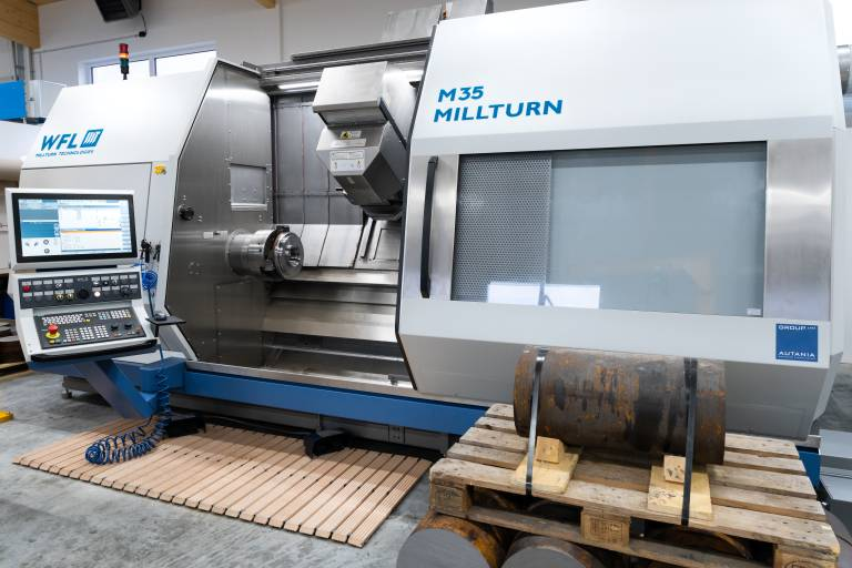 Mit der neuen M35 MILLTURN soll der Fokus auf komplexe Teile verstärkt werden und zu weiteren Projekten verhelfen.