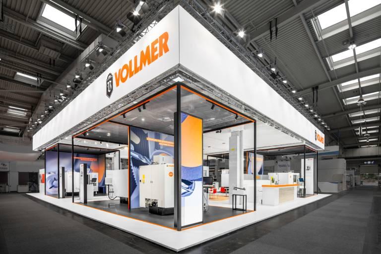 Auf der EMO 2021 in Mailand zeigt Vollmer seine neuen Schärfmaschinen und Dienstleistungen für die effiziente und präzise Bearbeitung von Zerspanwerkzeugen aus Hartmetall und mit PKD bestückt.