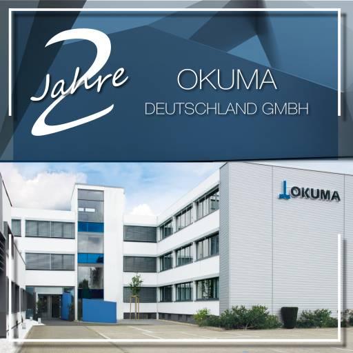 Die Okuma Deutschland GmbH feiert ihr zweijähriges Bestehen.