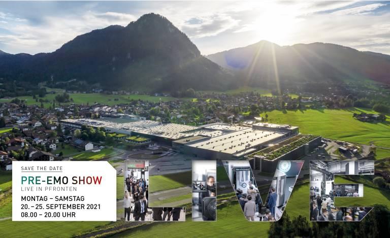 Bereits zwei Wochen vor der EMO in Mailand zeigt DMG Mori vom 20. bis 25. September 2021 auf der PRE-EMO Show am Traditionsstandort Pfronten die Messe-Highlights.