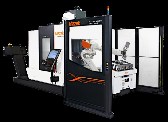 Das vertikale 5-Achsen-Bearbeitungszentrum CV5-500 setzt neue Maßstäbe auf dem Gebiet der 5-Achsen-Bearbeitung mit ausgezeichneter Wertschöpfung. Die Maschine ist ausgelegt für vielfältige Automationssysteme.