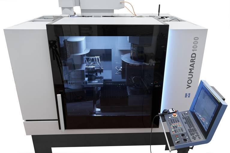 Die Innen- und Außenrundschleifmaschine VOUMARD®1000 ist bei Bedarf leicht automatisierbar.