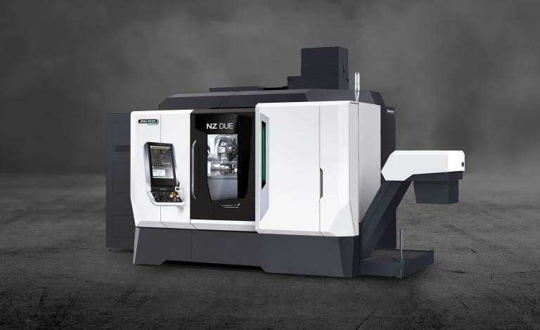 Mit der neuen NZ-Plattform definiert DMG Mori das Produktionsdrehen neu – mit bis zu vier Revolvern und vier B-Achsen auf 17,8 m².