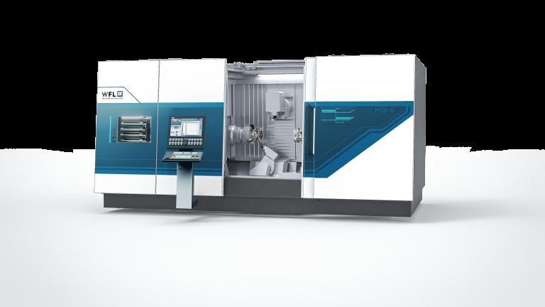 M20 Millturn – ein in Design und Technik völlig neu konzipiertes Dreh-Bohr-Fräszentrum von WFL.