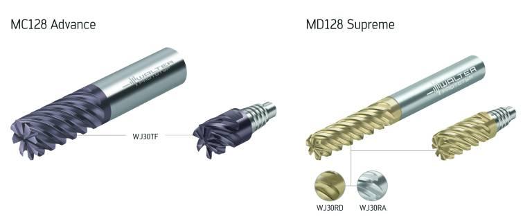 Sowohl den MC128 Advance als auch den MD128 Supreme hat Walter neben der Standardausführung auch als ConeFit im Programm.