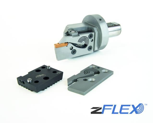 Das modulare Stechsystem zFlex besteht aus Grundhalter, Basis- und Primärkassette. Der Anwender profitiert davon, dass die einzelnen Komponenten flexibel kombinierbar sind.