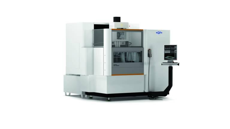 Die AgieCharmilles CUT P 550 Pro der neuen Drahterodiermaschinen-Generation verfügt über alle Neuheiten, um die Produktivität zu steigern.