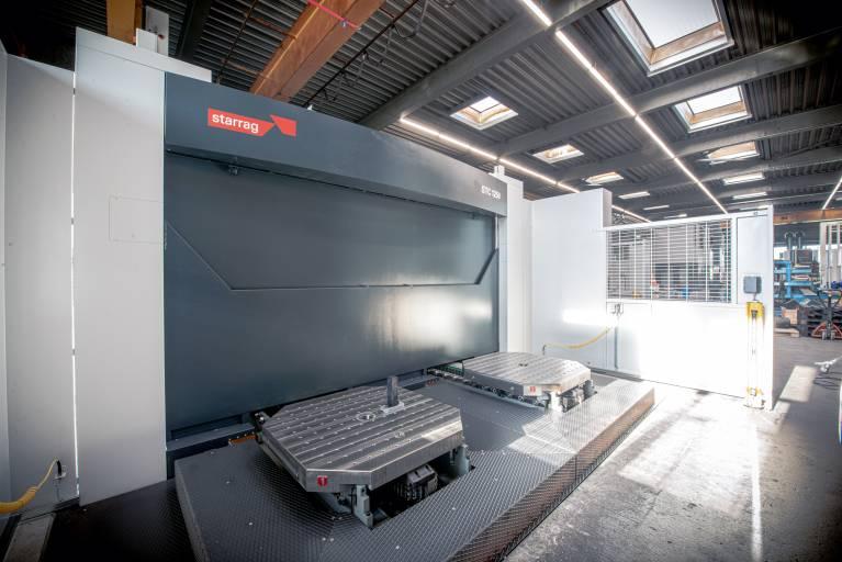 Im Juli 2020 nahm die Jorns AG das 5-Achs-Bearbeitungszentrum Starrag STC 1250 in Betrieb, seit Anfang September nimmt die Produktion damit richtig Fahrt auf.