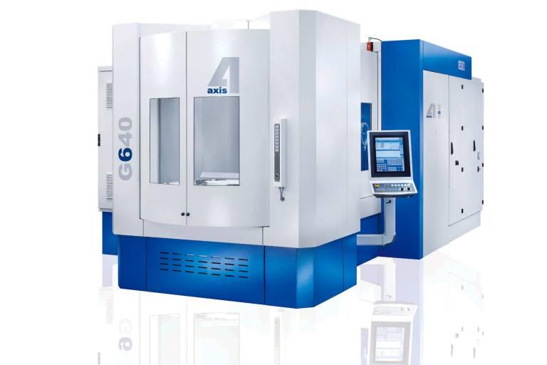 Die neuen 4-Achs-Universal-Bearbeitungszentren G440, G640 und G840 lassen sich individuell nach spezifischen Kundenanforderungen konfigurieren.